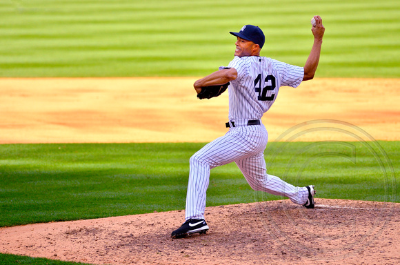 Mariano Rivera Last Pitch of Save #602  9.19.2011