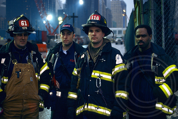 Firefighters at Ground Zero